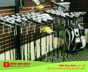 thu mua và trao đổi gậy golf