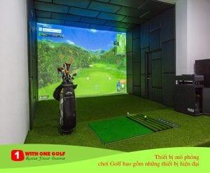 Thiết bị mô phỏng chơi golf