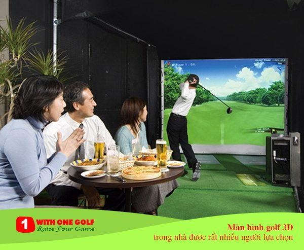 màn hình golf 3D